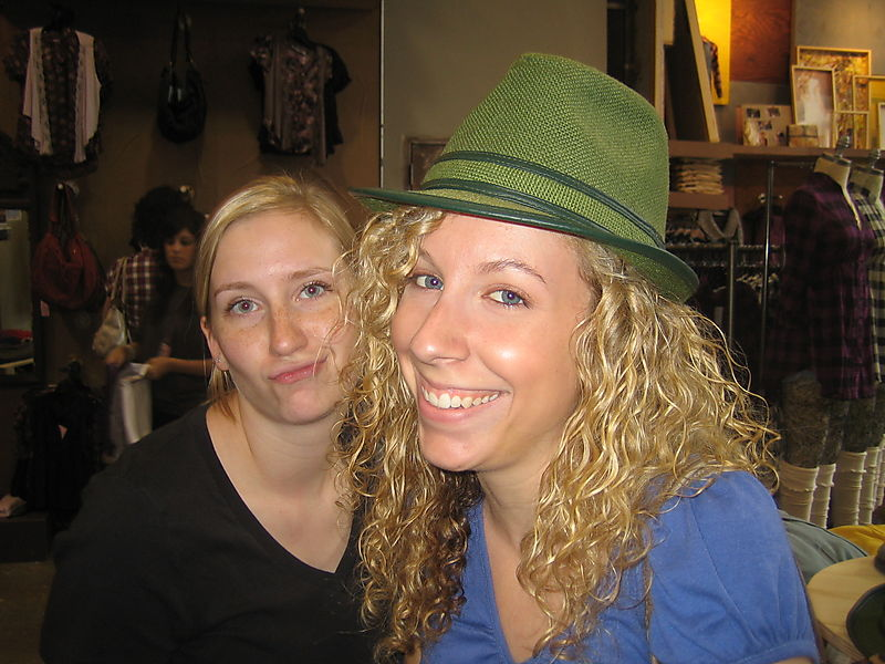 Rachel and me
