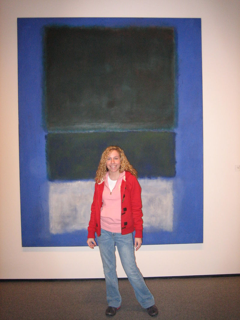 Blue rothko and me